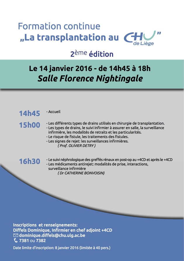 Affiche Formation Dom 2016